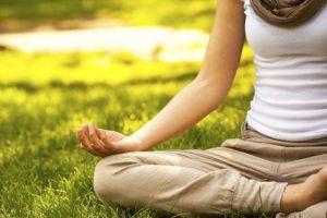 Meditate in nature.